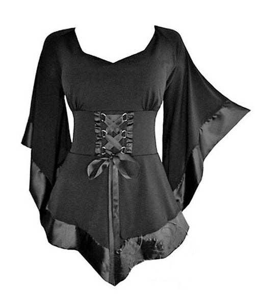 Gothic Lace Mini Dresses