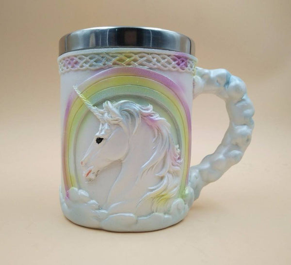 Stainless Steel Unicorn Mug