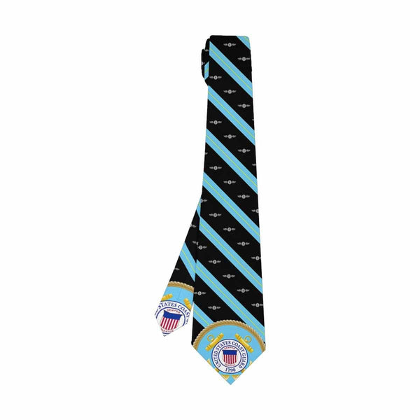 USCG AE  Classic Necktie (Two Sides)