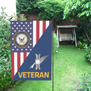 US Navy Legalman Navy LN Veteran House Flag 28 inches x 40 inches Twin-Side Printing