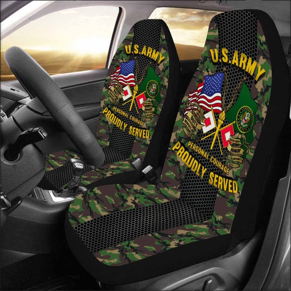 US Army Signal Corps Car Seat Covers (Set of 2)