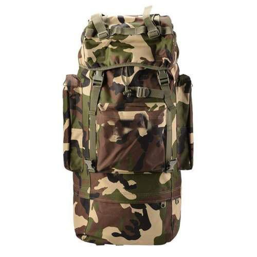 80L Waterproof 3P Tactical Military Mountaineering Backpacks with Rain Cove