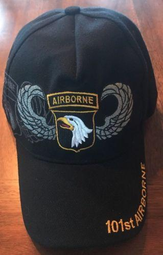 101ST AIRBORNE Embroidered US Military hat Baseball cap adjustable