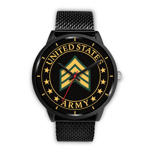 US Army E-5 Sergeant E5 SGT Noncommissioned Officer Ranks Watch