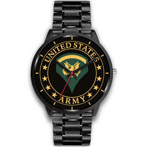 US Army E-5 SPC E5 Specialist Ranks Watch