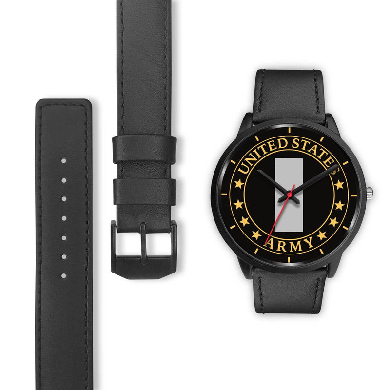 US Army O-2 First Lieutenant O2 1LT Commissioned Officer Watch