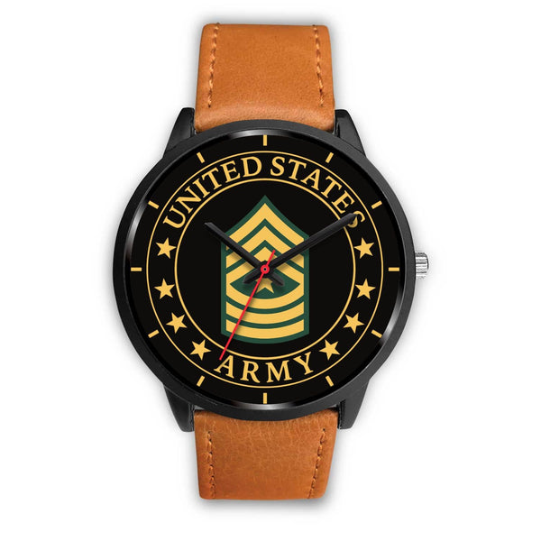 US Army E-9 Sergeant Major E9 SGM Noncommissioned Officer Watch