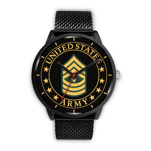 US Army E-8 First Sergeant E8 1SG Noncommissioned Officer Watch