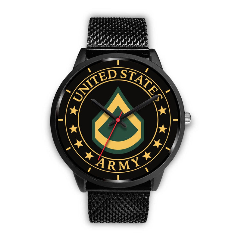 Army E-3 PFC E3 Private First Class Watch