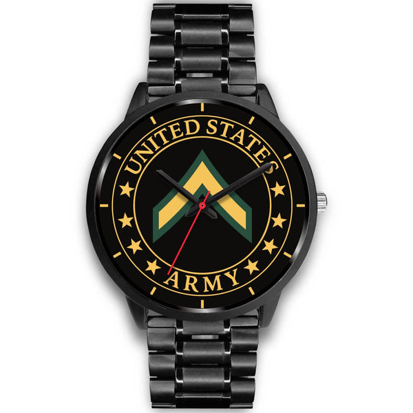 Army E-2 PV2 E2 Private Second Class Watch