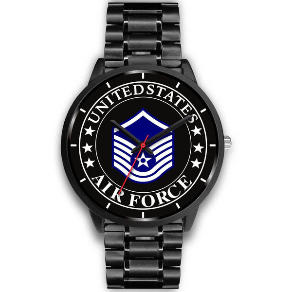 US Air Force E-7 Master Sergeant MSgt E7 Noncommissioned Officer Watch