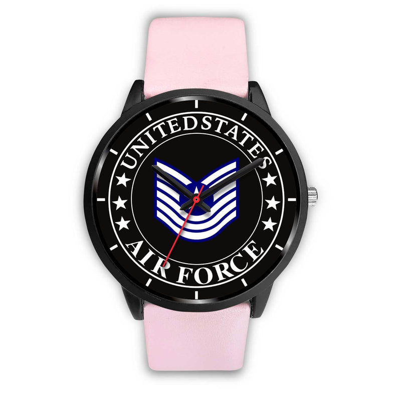 US Air Force E-7 Old Style Watch
