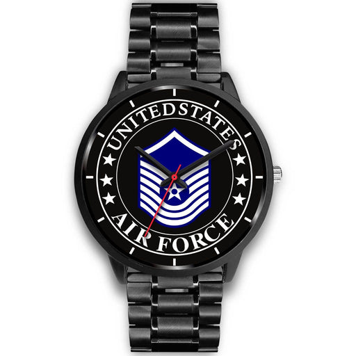 US Air Force E-8 Old Style Watch