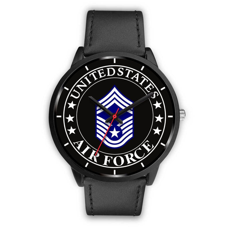 US Air Force E-9 Chief Master Sergeant CMSgt E9 Noncommissioned Officer Watch