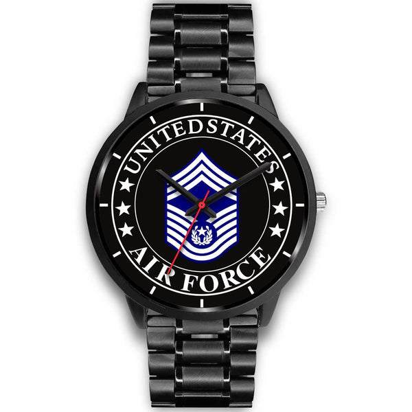 US Air Force E-9 Chief Master Sergeant Of The Air Force E9 CMSAF Noncommissioned Officer (Special) Watch