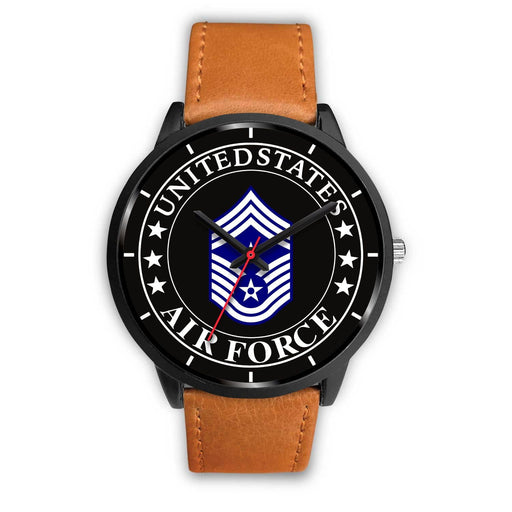 US Air Force E-9 Command Chief Master Sergeant CCM E9 Noncommissioned Officer Watch