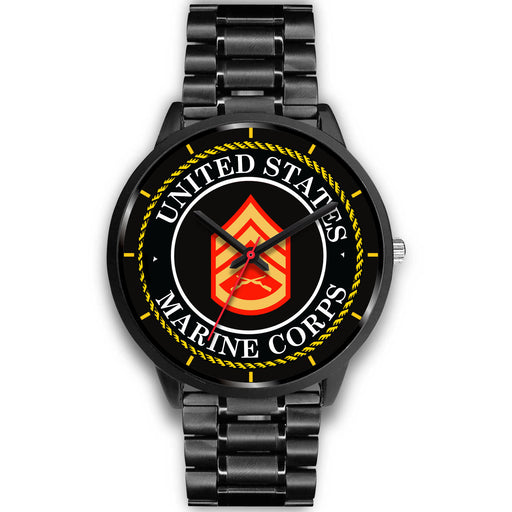 USMC E-6 Staff Sergeant E6 SSgt USMC Staff Noncommissioned Officer Watch