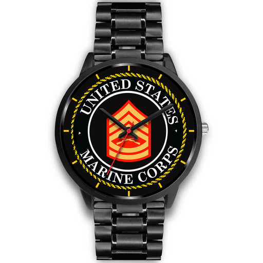 USMC E-7 Gunnery Sergeant E7 GySgt USMC Staff Noncommissioned Officer Watch