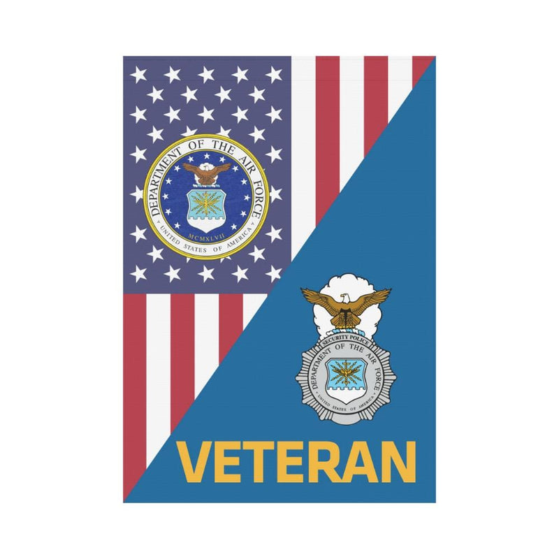 US Air Force Security Police Veteran House Flag 28 inches x 40 inches Twin-Side Printing