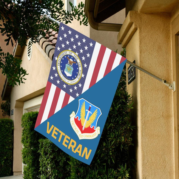 US Air Force Tactical Air Command Veteran House Flag 28 inches x 40 inches Twin-Side Printing