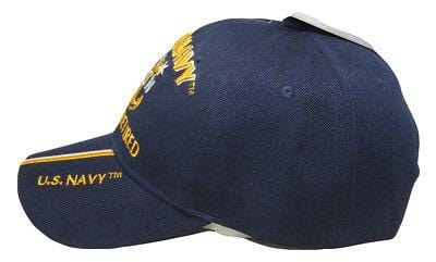 U.S. Navy MCPO Retired Embroidered Hat