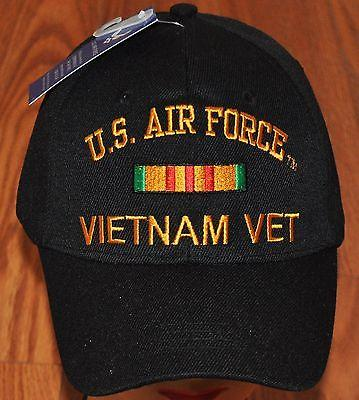 US Air Force Vietnam Veteran Embroidered Hat