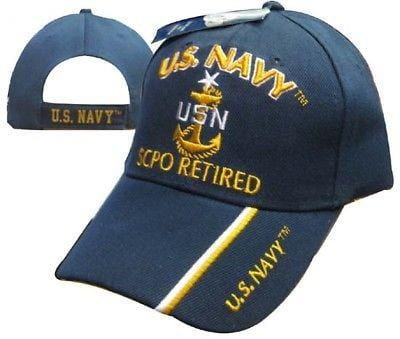 731d119fb49 U.S. Navy SCPO Retired Embroidered Cap Hat