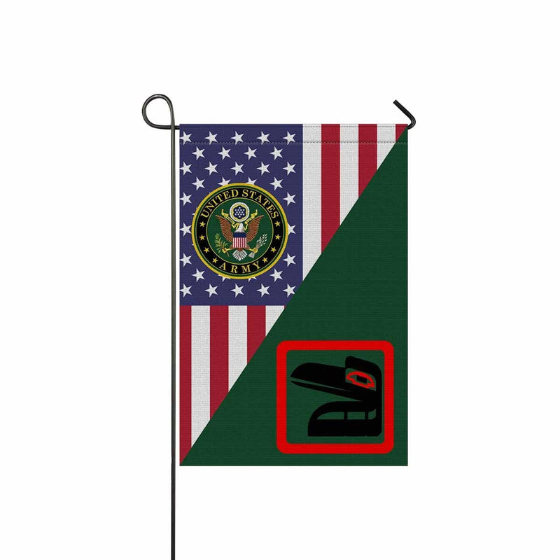 US ARMY 81ST ARMORED BRIGADE COMBAT TEAM Garden Flag/Yard Flag 12 inches x 18 inches Twin-Side Printing
