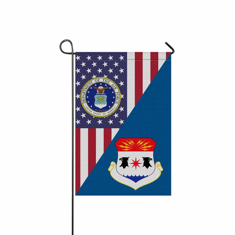 US Air Force 8th Air Division Garden Flag/Yard Flag 12 inches x 18 inches Twin-Side Printing