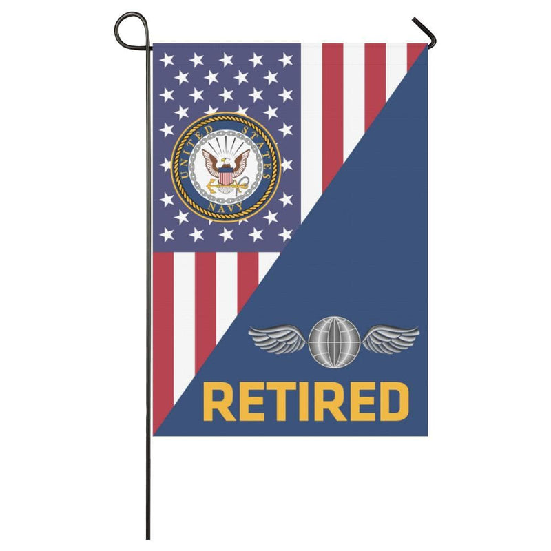 US Navy Aviation Electricians Mate Navy AE Retired House Flag 28 inches x 40 inches Twin-Side Printing