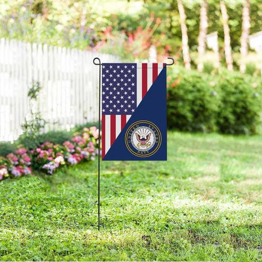 US Navy Garden Flag/Yard Flag 12 inches x 18 inches Twin-Side Printing
