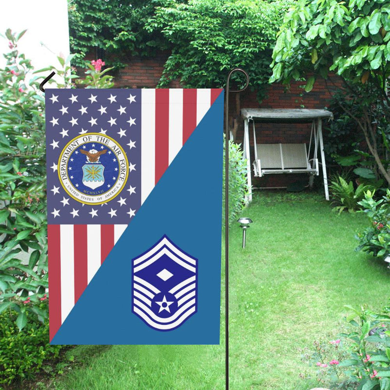 US Air Force E-8 First sergeant House Flag 28 inches x 40 inches Twin-Side Printing