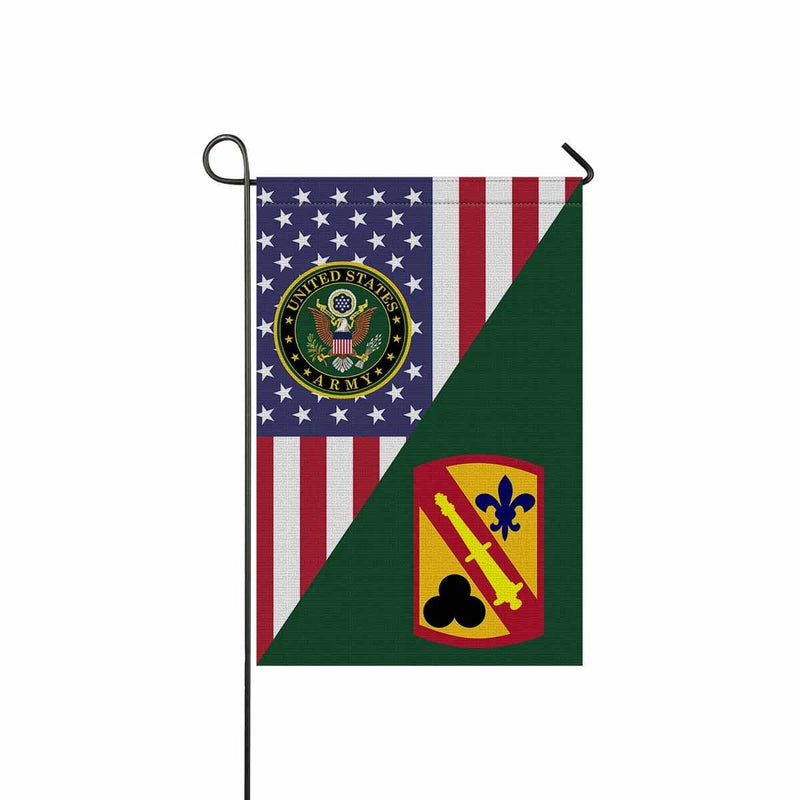 US ARMY 42 FIELD ARTILLERY BRIGADE Garden Flag/Yard Flag 12 inches x 18 inches Twin-Side Printing