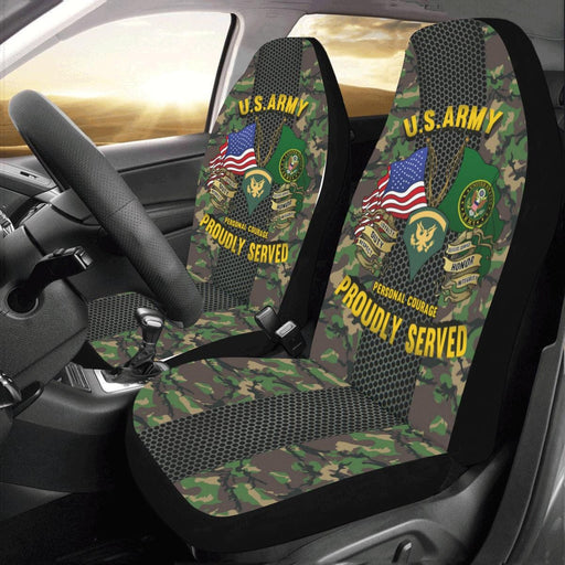 US Army E-5 SPC E5 SP5 Specialist 5 Specialist 2nd Class - Car Seat Covers Car Seat Covers (Set of 2)