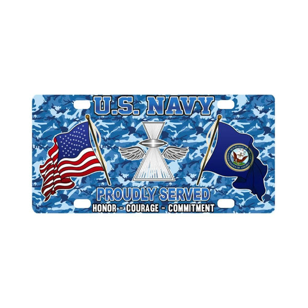 U.S Navy Photographer's Mate Navy PH - Classic License Plate