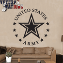 US Military Wall Vinyl Decal