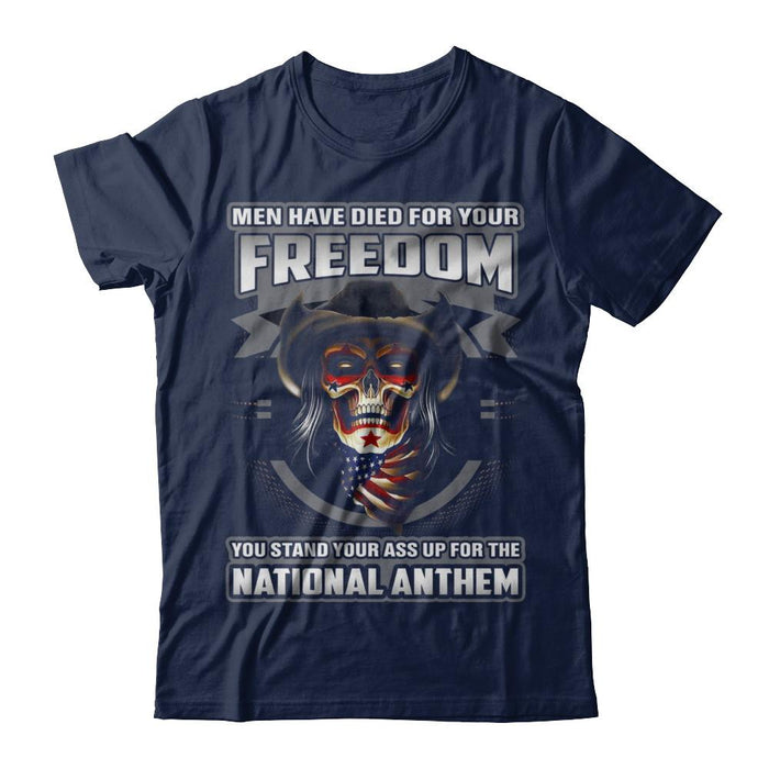 Veteran Died For Your Freedom T Shirt