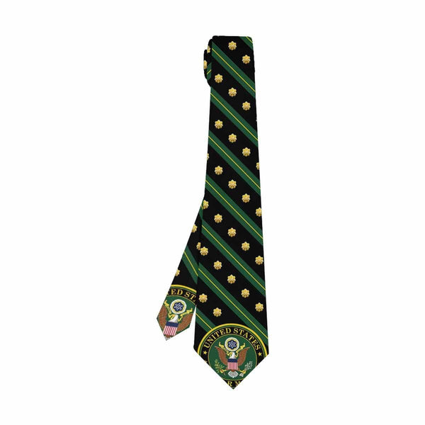 US Army O-4  Classic Necktie (Two Sides)