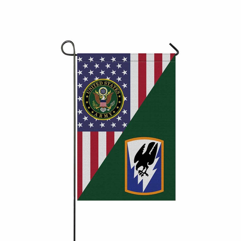 US ARMY 66TH THEATER AVIATION COMMAND Garden Flag/Yard Flag 12 inches x 18 inches Twin-Side Printing