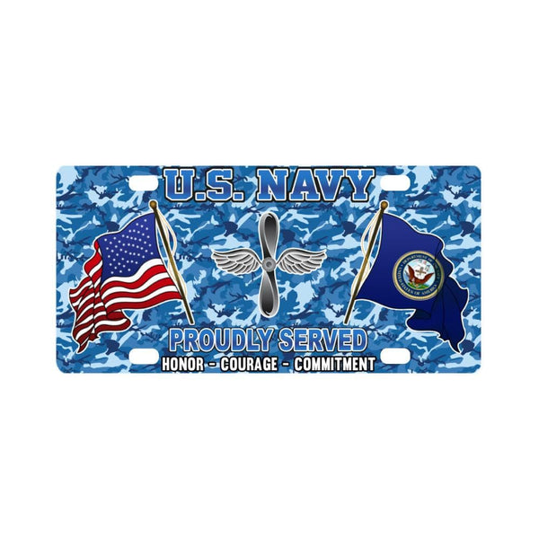 U.S Navy Aviation machinist's mate Navy AD - Classic License Plate