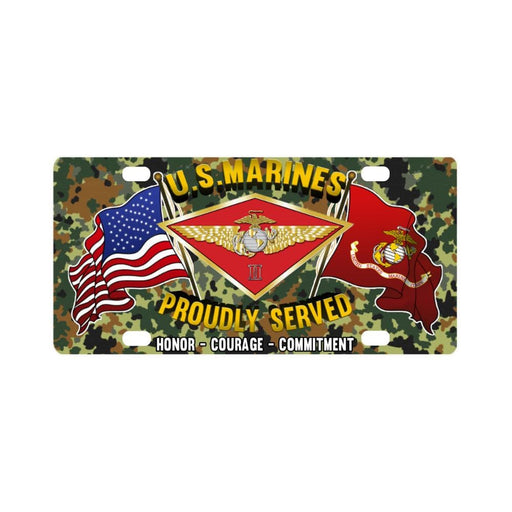 US Marine Corps 2nd Marine Air Wing Classic Licens Classic License Plate