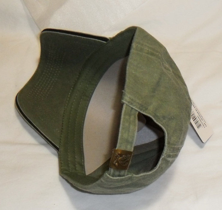 b61d0aaa Buy U.S. Army Veteran with Flag OD Green Baseball Cap Hat ...