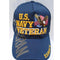 U.S Navy Veteran Cap Eagle Blue Military Adjustable