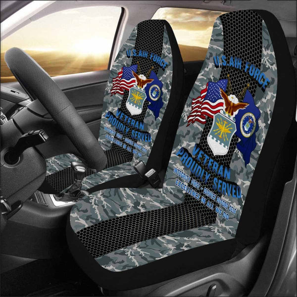 US Air Force Veteran Car Seat Covers (Set of 2)