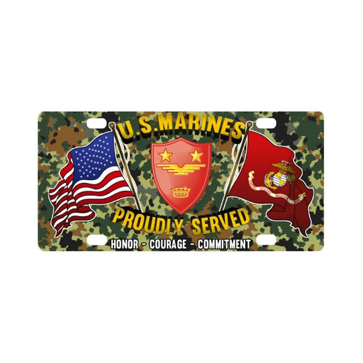 US Marine Corps Headquarter Pacific MAW Classic Li Classic License Plate