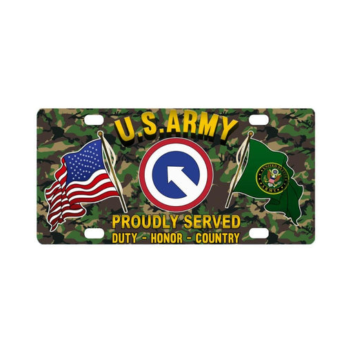 US ARMY 1ST SUSTAINMENT- Classic License Plate