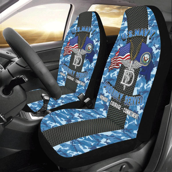 Navy Dental Technician Navy DT Car Seat Covers (Set of 2)