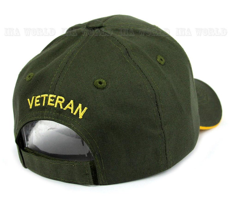 U.S. Army Strong Veteran Star Logo Baseball Cap Hat