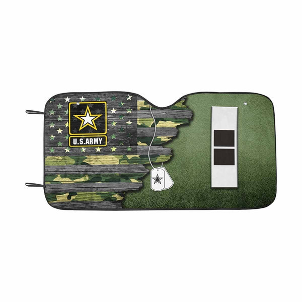 US Army W-2 Chief Warrant Officer 2 W2 CW2 Warrant Officer Ranks  Auto Sun Shade 55 Inches x 29.53 Inches