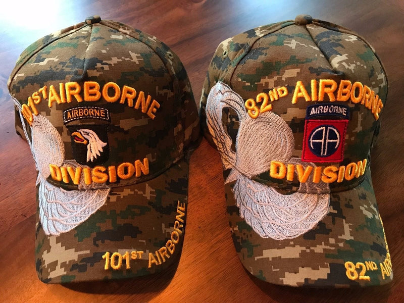 US ARMY 82nd 101st Airborne Embroidered Hat